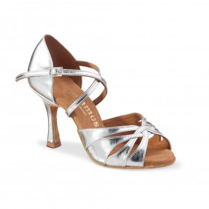 Rummos Ladies Dance Shoes R520 - Silver - 7 cm