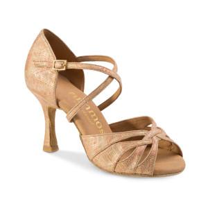 Rummos Mulheres Sapatos de Dança R520 - Pele Bege - 7 cm