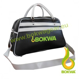 Bokwa® - Retro Bag - Black/White *** Mangel *** Final Sale - No return