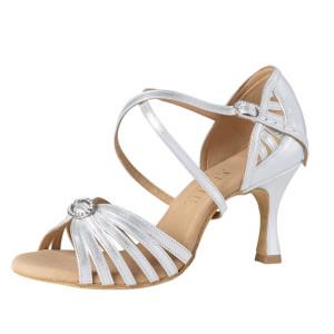 Rummos Mujeres Latino Zapatos de Baile Elite Celine 009 mit Strass-Spange