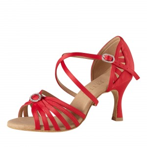 Rummos Mujeres Latino Zapatos de Baile Elite Celine 049 mit Strass-Spange