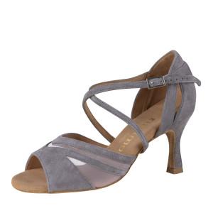 Rummos Ladies Dance Shoes Doris - Nubuck Gray - 6 cm