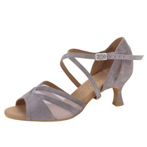 Rummos Ladies Dance Shoes Doris - Nubuck Gray - 5 cm