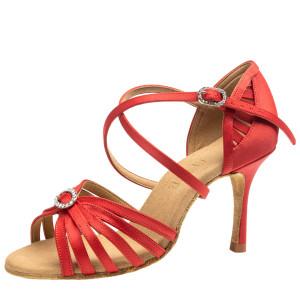 Rummos Ladies Latin Dance Shoes Elite Celine 049 with Rhinestones-Buckle