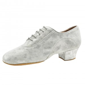 Rummos Ladies Practice Shoes R377 - Leather/Nubuck Silver