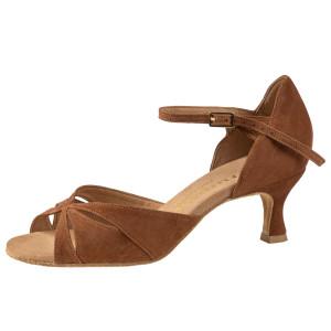 Rummos Mulheres Sapatos de Dança R385 026 - Nubuck Braun - 5 cm