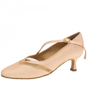 Rummos Ladies Ballrom Dance Shoes R490 - Flesh - 5 cm