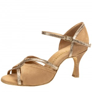 Rummos Ladies Dance Shoes R550 027-132 - Light Brown - 6 cm