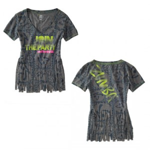 Zumba® - Sunset V-Neck - Jet | Final Sale