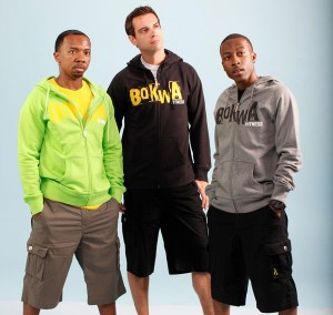 Bokwa® - Trainer Fleece Hoodie - Sunburst
