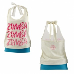 Zumba® - Tribe Halter Top - Marshmallow | Final Sale