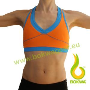 Bokwa® - Women´s Sports Bra - Orange [Large]