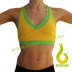 Bokwa® - Women´s Sports Bra - Sunburst