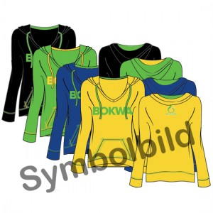 Bokwa® - Women´s Pullover Hoodie - Turquoise [Small] Final Sale - No return