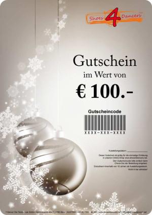 Geschenkgutschein Weihnachten [€20.-/€25.-/€50.-/€100.-]