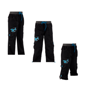 ZumbAtomic® - Classic Cargo Pants - Black