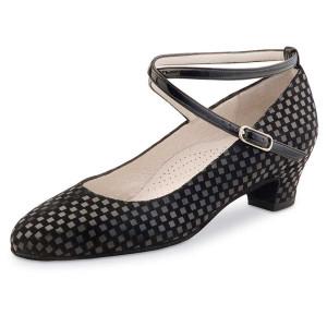 Werner Kern - Mulheres Sapatos de Dança Alice 3,4 Comfort - Quadratino