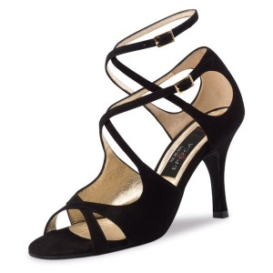 Nueva Epoca - Ladies Dance Shoes Amalia - Suede Black
