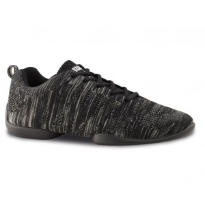 Anna Kern - Damen Dance Sneakers 125 Bold - Grau/Schwarz