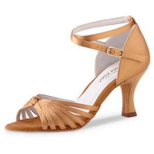 Anna Kern - Femmes Chaussures de Danse 526-60 - Satin Tan