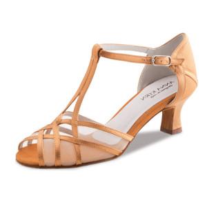 Anna Kern - Mulheres Sapatos de Dança 540-50 - Cetim Bronze