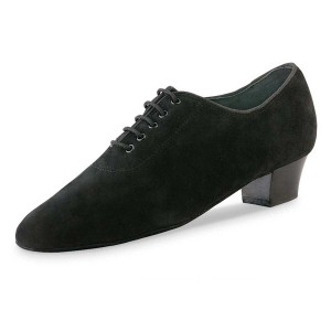Anna Kern - Ladies Practice Shoes 559-30 - Black Suede