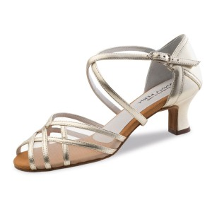 Anna Kern - Ladies Dance Shoes 580-50 - Gold Leather