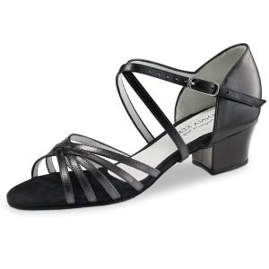 Anna Kern - Femmes Chaussures de Danse 581-35 - Cuir Noir