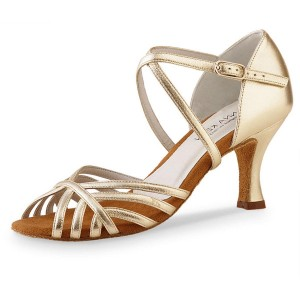 Anna Kern - Ladies Dance Shoes 598-60 - Gold Leather