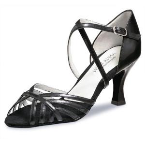 Anna Kern - Mulheres Sapatos de Dança 598-60 - Cuoro Preto