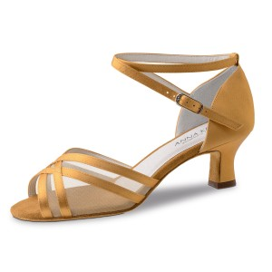 Anna Kern - Ladies Dance Shoes 610-50 - Satin Bronze