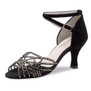 Anna Kern - Ladies Dance Shoes 700-60 - Suede Black