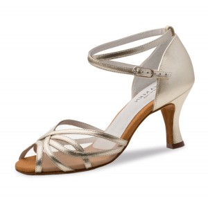 Anna Kern - Ladies Dance Shoes 740-60 - Gold Leather
