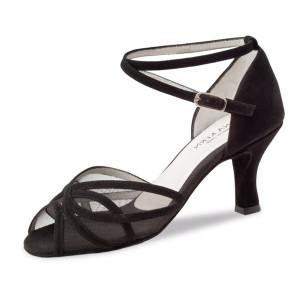 Anna Kern - Mulheres Sapatos de Dança 740-60 - Camurça Preto