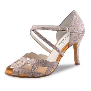 Anna Kern - Femmes Chaussures de Danse 820-75 - Brocart