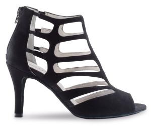 Anna Kern - Femmes Chaussures de Danse 860-75 - Suède Noir