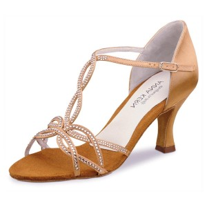 Anna Kern - Ladies Dance Shoes 919-60 - Bronce Satin