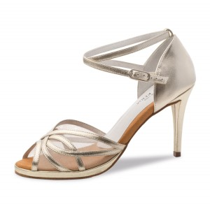 Anna Kern - Ladies Dance Shoes 950-80 - Gold Leather