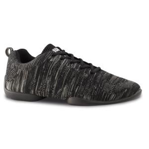 Anna Kern - Herren Dance Sneakers 4025 Bold - Grau/Schwarz