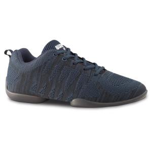 Anna Kern - Heren Dance Sneakers 4030 Bold - Blauw/Zwart