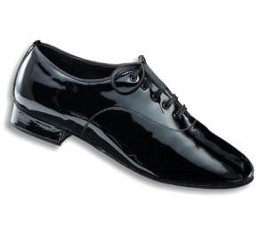 Dance Naturals - Herrren Sapatos de Dança 11 - Laca Preto