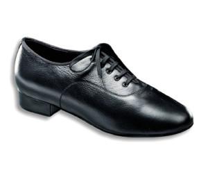Dance Naturals - Hommes Chaussures de Danse 11 - Cuir Noir