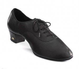Dance Naturals - Men´s Latin Shoes 116 - Black Leather