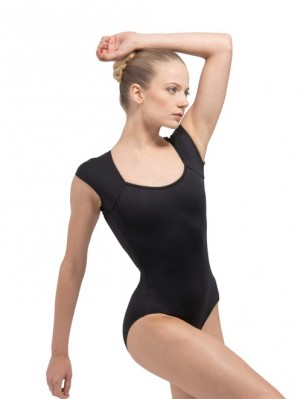 Ballet Rose - Womens Ballet Body/Leotard SISSI backless with cap sleeves