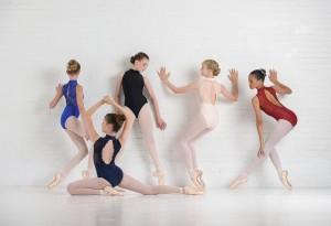 Ballet Rose - Girls Ballet Body/Leotard AMÉLIE backless/sleeveless