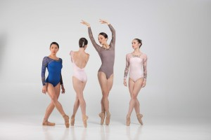 Ballet Rose - Womens Ballet Body/Leotard SAE backless with long sleeves
