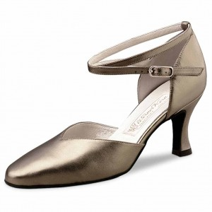 Werner Kern - Damen Tanzschuhe Betty - Chevro Antik