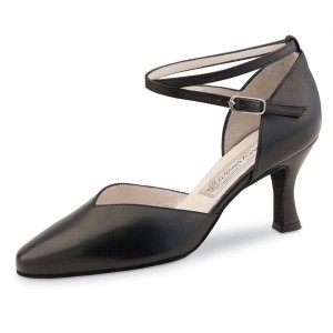 Werner Kern - Ladies Dance Shoes Betty - Black Leather