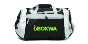 Bokwa - Sports Bag Negro/Gray | Final Sale - No Return