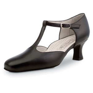 Werner Kern - Mulheres Sapatos de Dança Celine - Pele Preto